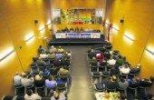 """<a href=""""http://www.stac.cat/wp-content/uploads/2013/04/congresoCTE1.jpg""""></a> Candás (Asturias).- · Candás acoge la reunión, con delegados de 14 autonomías, en la que se elegirá la nueva ejecutiva de la confederación nacional El IX Congreso Nacional de la Confederación del Taxi de España que se celebra en Candás…"""