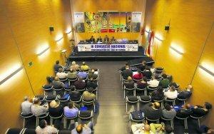 """Inicio del IX Congreso en el polivalente """"La Baragaña"""""""