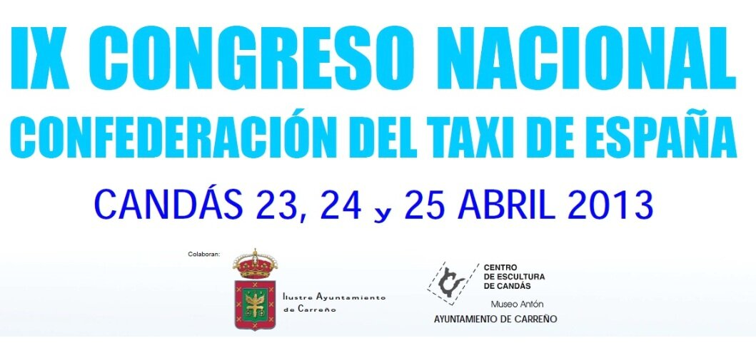 Delegados del taxi de 14 autonomías se citan en un congreso en Candás